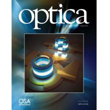 Optica August 2017 cover