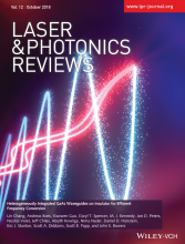 Laser and Photonics Reviews cover