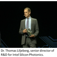 Dr. Thomas Liljeberg, senior director of R&D for Intel Silicon Photonics.